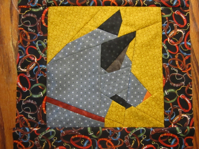 July Mutt Of The Month German Shepherd Bungalow Quilting Yarn