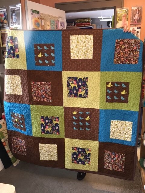 Modern Quilt Enthusiast - Bungalow Quilting & Yarn : quilting with yarn - Adamdwight.com