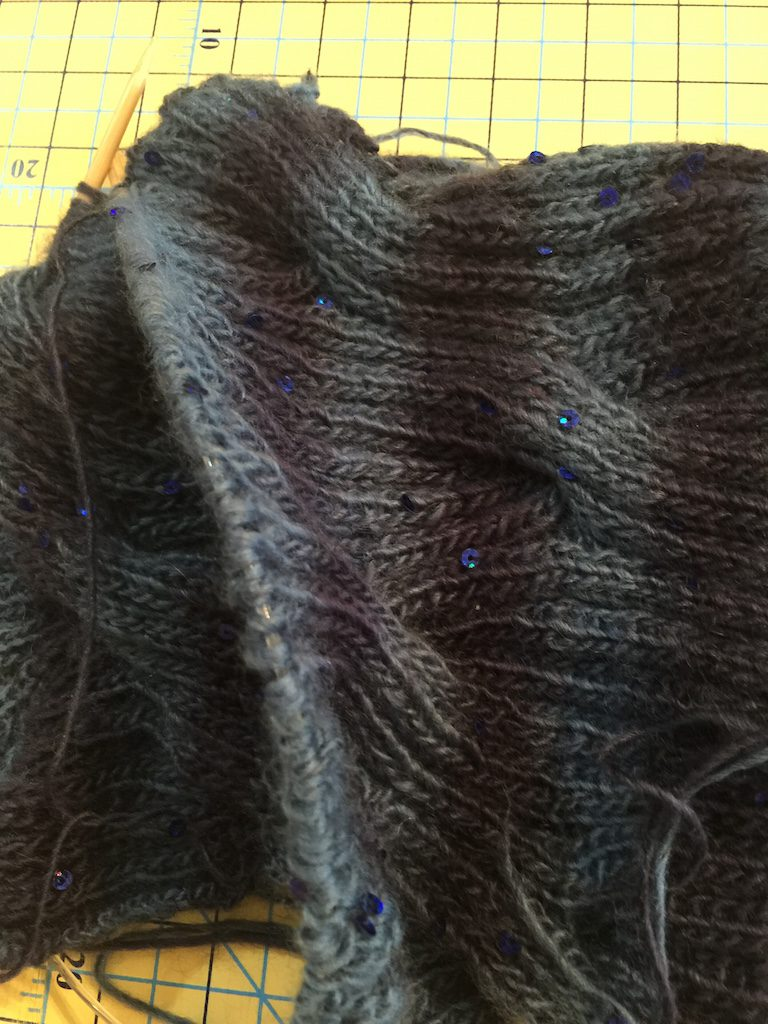 Knit on, Purl off