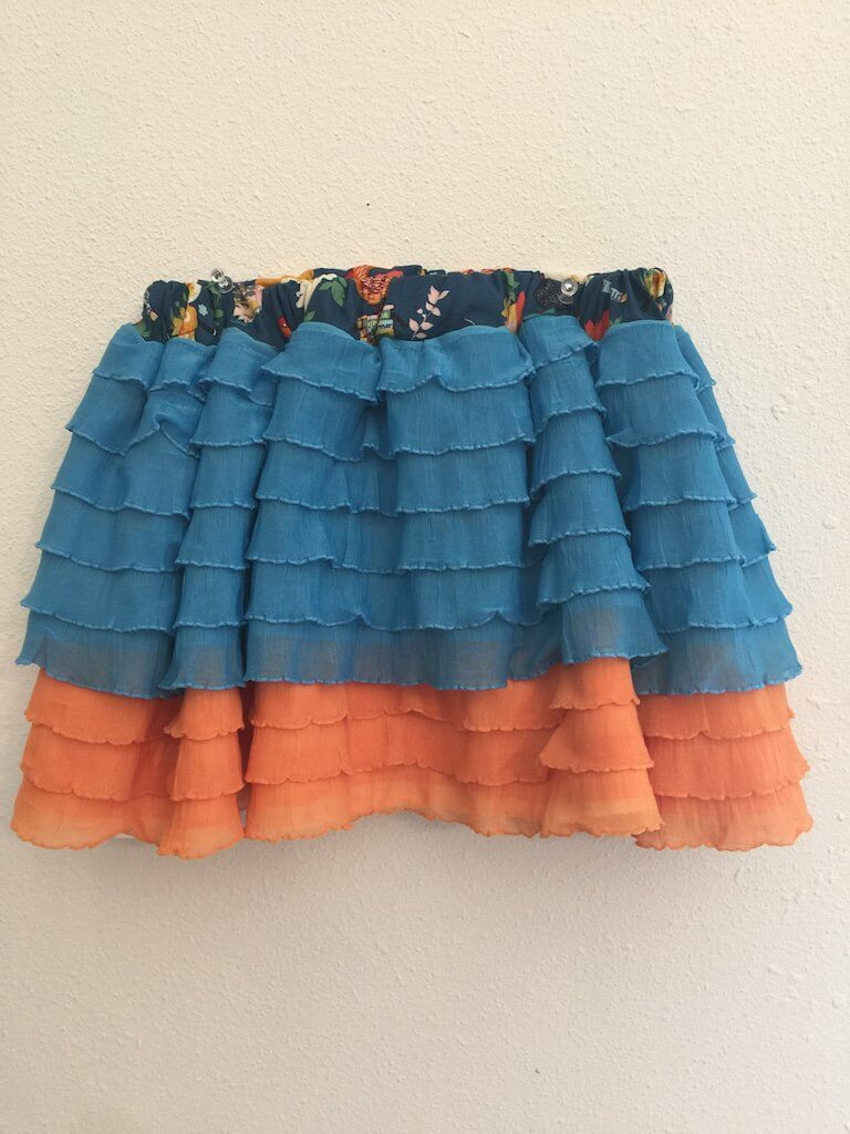 Adorable Tiered Ruffle Skirt