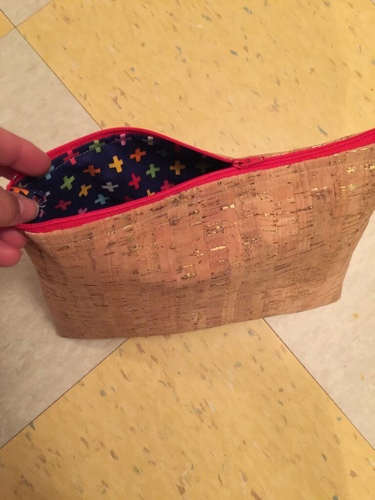 Cork Zippy Pouch