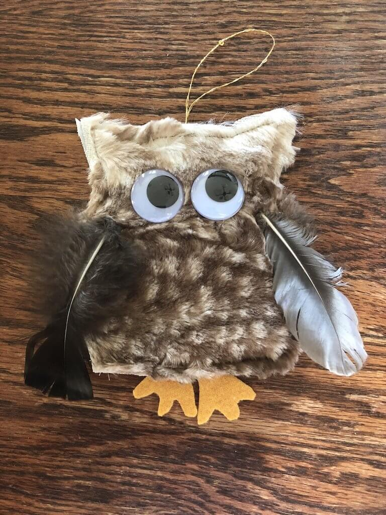 Make an Owl and get 20% off of fabric!