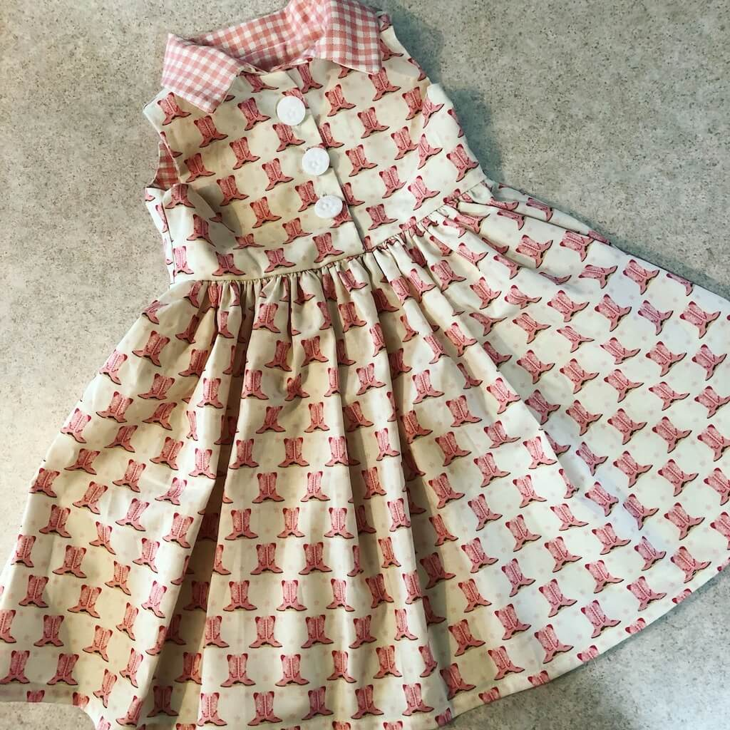 The Cowgirl Dress that should have been So Simple!!